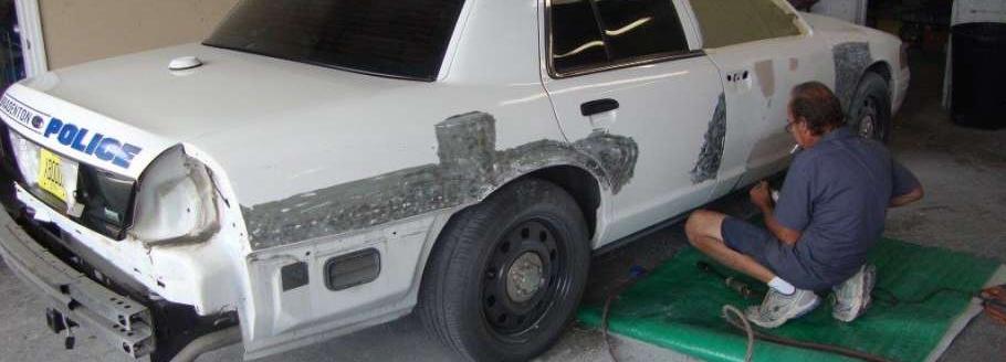 Fixing Car Damage